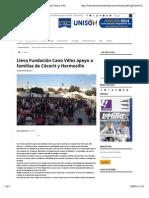 15-09-14 Lleva Fundación Cano Vélez apoyo a familias de Cócorit y Hermosillo