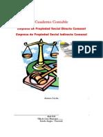 Cuaderno Contable Empresa Propiedad Social Directa Comunal