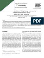 Studies of the electrodegradation of methyl orange