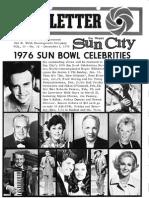 Del Webb Sun City Newsletter December 1, 1975-Vol 13 No 12
