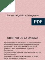 Proceso Del Jabon y Detergentes