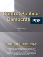 Control Político 9º