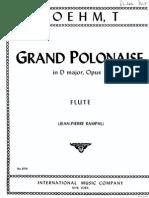 Boehm Gran Polonaise-Fl