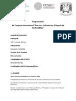 6n2 XV Congreso Inter Procesos Civilizatorios N Elias Programa