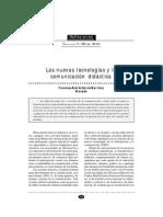 Las Nuevas Tecnologías Y La Comunicación Didáctica