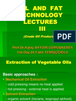 Yoil and Fat Technology Lectures III Crude Oil Production