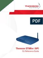 Modem Thomson ST585v6_CLI