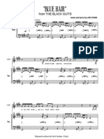 Blue Hair Sheet Music