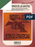 LOS CUADERNOS DE LAS GAVIOTAS. CIINOE-COMOARTES. 107. ANDREY ARAYA. PERIODISMO AL LÍMITE