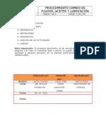P_OM_CFA PROCEDIMIENTO CAMBIO DE FLUIDOS, ACEITES Y LUBRICACI+ôN
