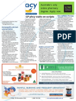 Pharmacy Daily for Fri 07 Nov 2014 - No GP phcy waits on scripts, Pharmacists, drs partner, Homeopathy ads lack substantiation, Events Calendar, and much more