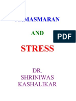 Namasmaran and Stress Dr. Shriniwas j. Kashalikar