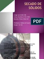 Charla Sobre Ing. Procesos- Operación de Secado