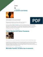 10 Obras Del Teatro Nacional