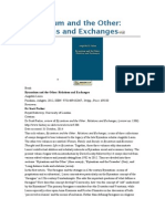Book Byzantium and the Other Relations and Exchanges Angeliki Laiou Farnham, Ashgate, 2012, ISBN 9781409432067; 344pp.; Price £90.00 Reviewer Dr Scott Parker Royal Holloway, University of London