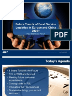 Future Trends in Food Service Logistics Smurfit Business School October 21st 2014(1)