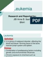 Ibarra-Leukemia.ppt