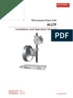 ALCOMA Microwave  AL17F Manual