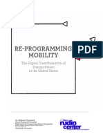 Re-Programming Mobility Report