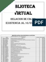 Lista CD Bibliotecavirtual