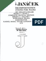 Janacek Complete Piano Works
