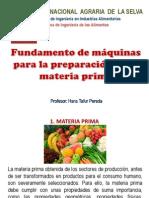 Unidad IV - Materia Prima-2014-2