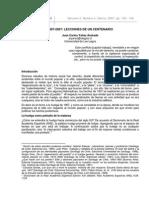 1907-2007 Lecciones de Un Centenario