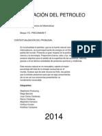 Exportación Del Petroleo PFM