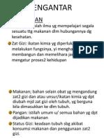 Pengantar Gizi(1)