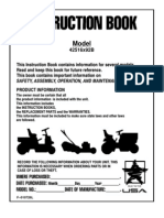 Murray Riding Mower - 42516x92B