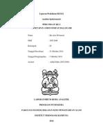 Laporan Praktikum KI3121 P_2