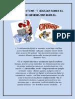ASPECTOS ETICOS   Y LEGALES SOBRE EL                USO  DE INFORMACION DIJITAL.docx