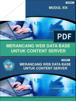Kk19-Merancang Web Data Base Untuk Content Server