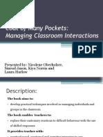 coat of many pockets - group presentation