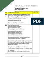 Skrip MC Majlis Syarahan MABBIM 2014-Murni Oleh DBP KL