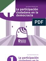 La Participacion Ciudadana en La Democracia