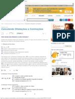 Calculando Dilatações e Contrações - Dilatação Térmica - Colégio Web.pdf