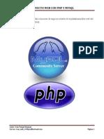 Proyecto Web Con Php y Mysql Original y Completo