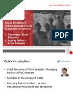 India Webinar Nove 2014 Ppt