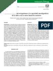 Asociación Entre Microorganismos y La Capacidad Amortiguadora de La Saliva Con La Caries Dental de Escolares