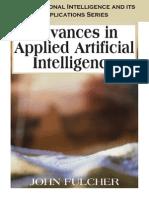 Advances in Applied Artificial Intelligence - John Fulcher