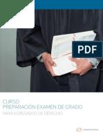 Curso Preparacion Examen de Grado
