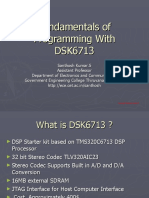 Fundamentals of Programming With DSK6713