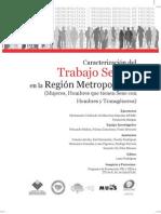 Caracterización del Trabajo Sexual en la Región Metropolitana - muMs, Fundación Margen2009
