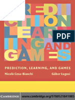 Prediction, Learning, And Games (2006)