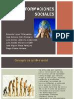 cambios sociales