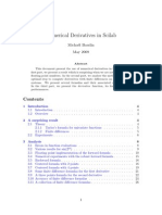 numerical derivatives scilab 2