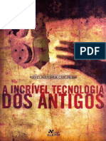 A Incrivel Tecnologia Dos Antig - David Hatcher Childress