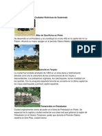 Ciudades Historicas de Guatemala