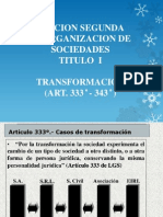 Las Diapositivas Transformacion